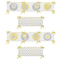 Sweet Jojo Designs Mod Garden Crib Bumper