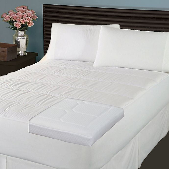 Therapedic 174 Back Stomach Sleeper Pillows Mattress Pad And