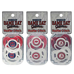 Collegiate 2-Pack Infant Pacifiers