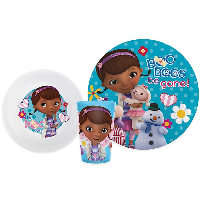 Disney The Doc Is In 4 Piece Doc Mcstuffins Toddler: Zak! Designs® Disney® Doc McStuffins 3-Piece Kids