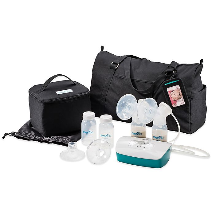 Alternate image 1 for Evenflo® Deluxe Advanced Double Electric Breastpump