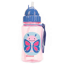 SKIP*HOP® Zoo 12 oz. Butterfly Straw Bottle