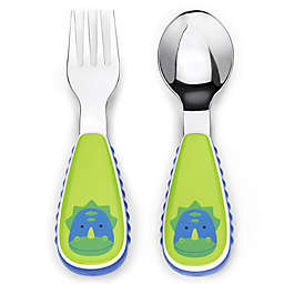 SKIP*HOP® Zootensils Little Kid Fork & Spoon in Dino