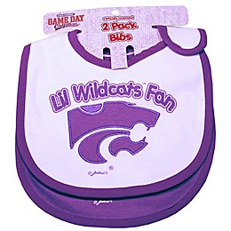 Kansas State University 2-Pack Infant Bib