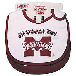 Mississippi State University 2-Pack Infant Bib