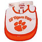 Clemson University 2-Pack Infant Bib