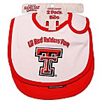 Texas Tech University 2-Pack Infant Bib