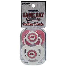 University of Arkansas 2-Pack Infant Pacifiers