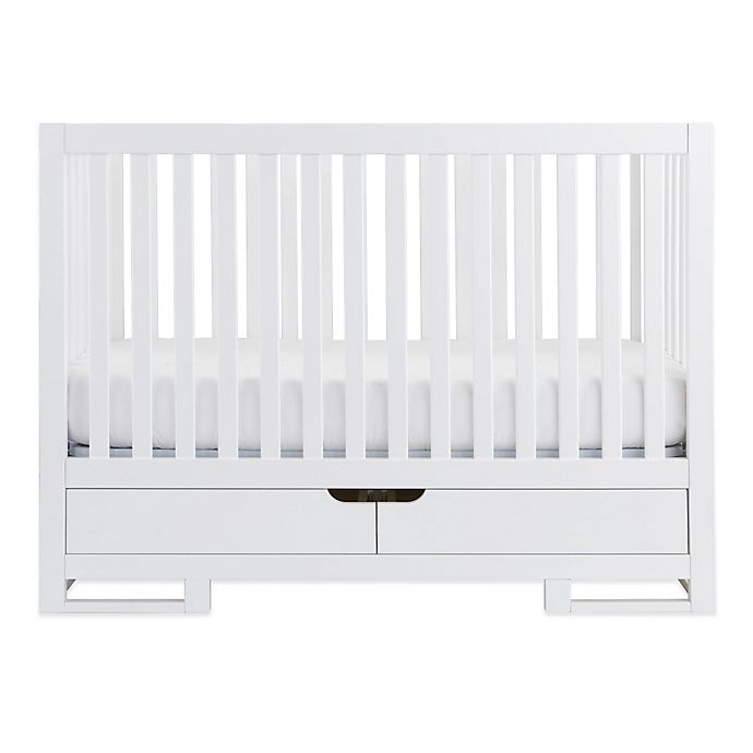 Alternate image 1 for Karla Dubois® OSLO Crib in Pure White
