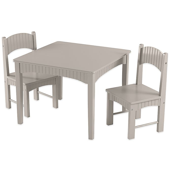 Super Tree House Lane Table And 2 Chairs Set In Grey Alphanode Cool Chair Designs And Ideas Alphanodeonline