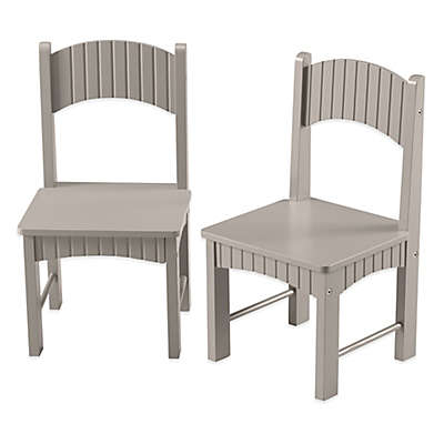 Tree House Lane Set of 2 Chairs in Grey