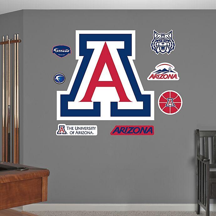 Alternate image 1 for Fathead® University of Arizona Logo Wall Graphic