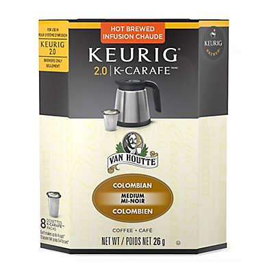 Keurig® K-Carafe™ Pack 8-Count Van Houtte® Colombian Medium Roast Coffee