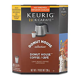 Keurig® K-Carafe™ Pack 8-Count Donut House Collection® Medium Roast Coffee
