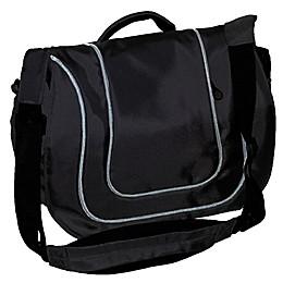 Jolly Jumper® Stockholm Diaper Bag in Black