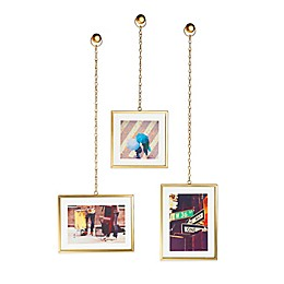 Umbra® Fotochain Photo Display in Brass