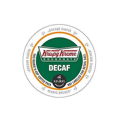 Keurig® K-Cup® Pack 18-Count Krispy Kreme Doughnuts® Decaf Medium Roast Coffee