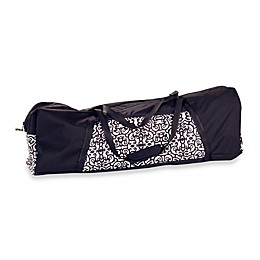 Peg Perego Pliko Mini Travel Bag in Black/White
