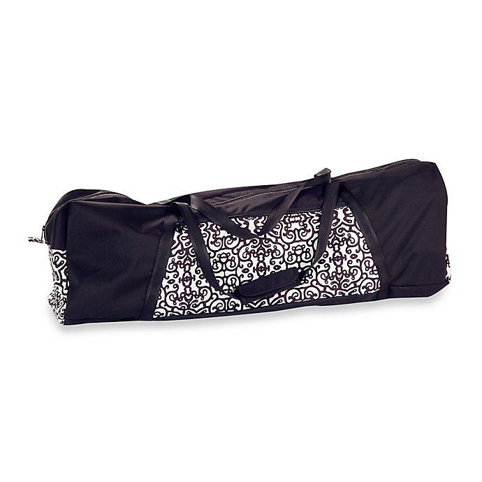 Alternate image 1 for Peg Perego Pliko Mini Travel Bag in Black/White