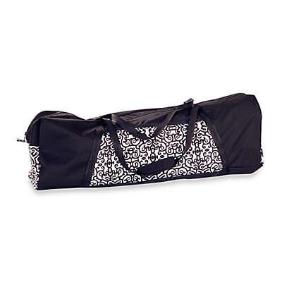 Peg Perego Pliko Mini Travel Bag in Black/White