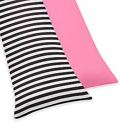 Sweet Jojo Designs Paris Reversible Body Pillowcase