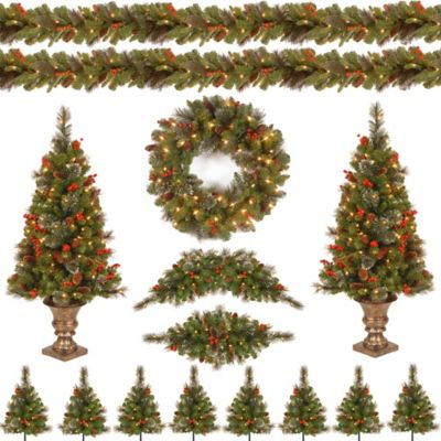 National Tree Crestwood Christmas Spruce Assortment With