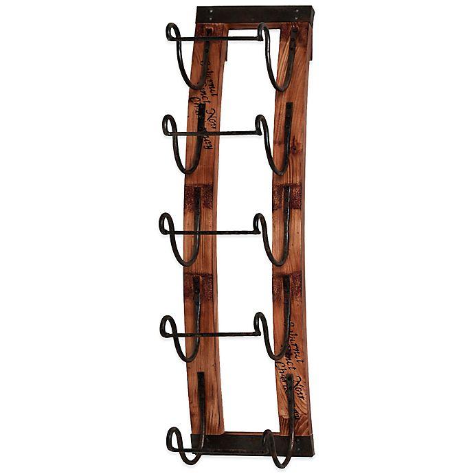Alternate image 1 for 5-Bottle Hanging Wine Rack