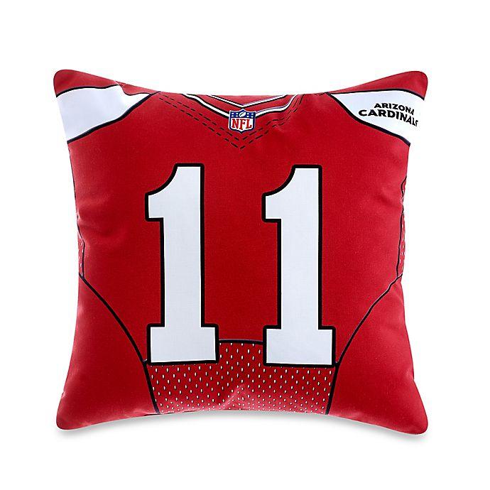 size 40 e1f83 5f3fc NFL Arizona Cardinals Larry Fitzgerald Jersey Pillow | Bed ...