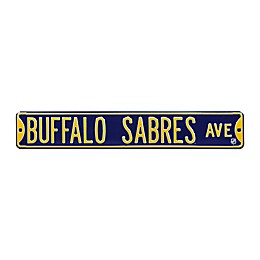 NHL Buffalo Sabres Steel Street Sign