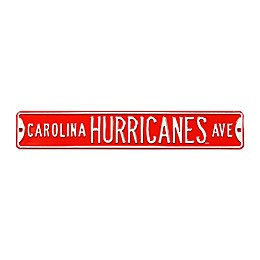 NHL Carolina Hurricanes Steel Street Sign