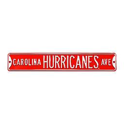 NHL Carolina Hurricanes Steel Street Sign