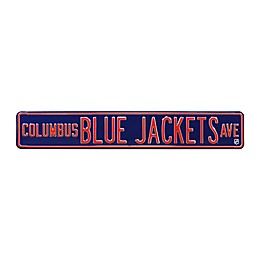 NHL Columbus Blue Jackets Steel Street Sign