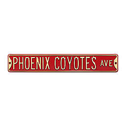 NHL Phoenix Coyotes Steel Street Sign