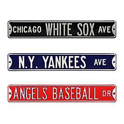 MLB Steel Street Sign