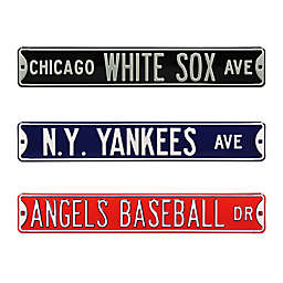 MLB Steel Street Sign