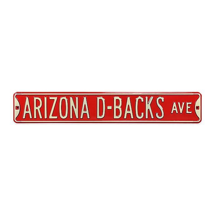 Alternate image 1 for MLB Arizona Diamondbacks Steel Street Sign