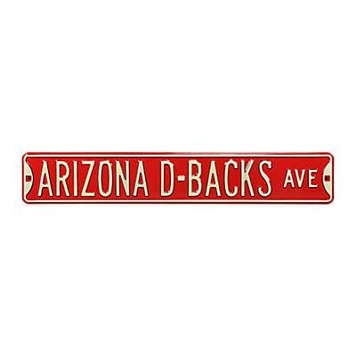 MLB Arizona Diamondbacks Steel Street Sign