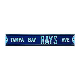 MLB Tampa Bay Rays Steel Street Sign