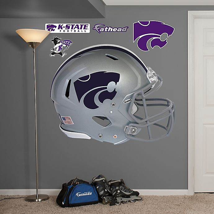 Alternate image 1 for Fathead® Kansas State University Helmet Wall Graphic