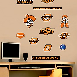 Fathead® Oklahoma State University Cowboys Assortment Logo Wall Graphic