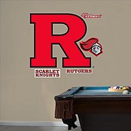 Fathead® Rutgers University Block R Logo Wall Graphic