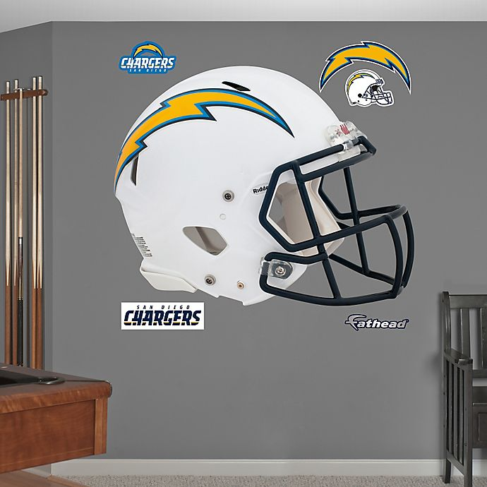 San Diego Chargers For Sale: Fathead® NFL San Diego Chargers Revolution Helmet Wall