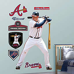 Fathead® MLB Atlanta Braves Freddie Freeman Home Wall Graphic