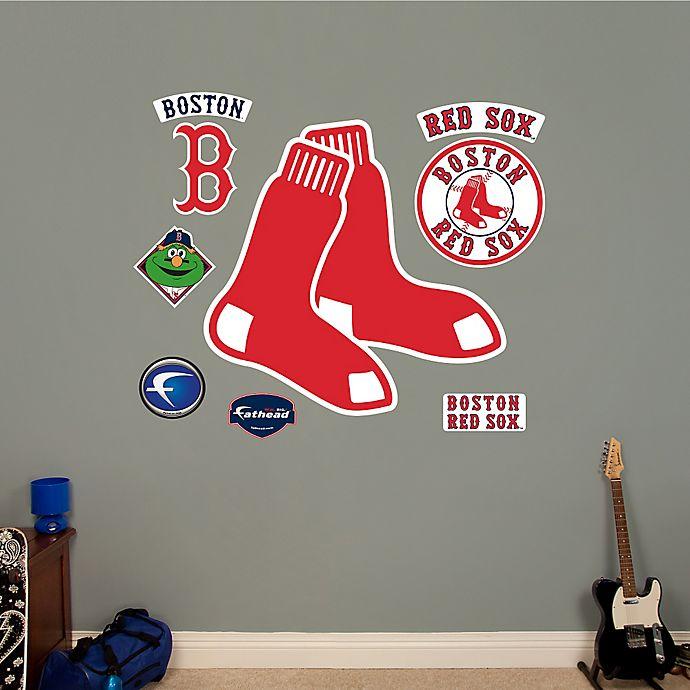 Alternate image 1 for Fathead® MLB Boston Red Sox Logo Wall Graphic