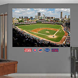 Fathead® MLB Chicago Cubs Stadium Mural Wall Graphic