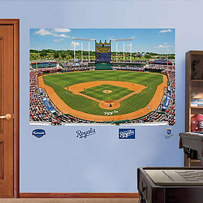 Fathead® MLB Kansas City Royals Stadium Mural Wall Graphic