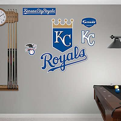 Fathead® MLB Kansas City Royals Logo Wall Graphic