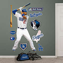 Fathead® MLB Los Angeles Dodgers Matt Kemp Home Wall Graphic