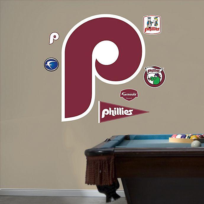 Alternate image 1 for Fathead® MLB Philadelphia Phillies Classic Logo Wall Graphic