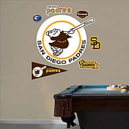 Fathead® MLB San Diego Padres Classic Logo Wall Graphic